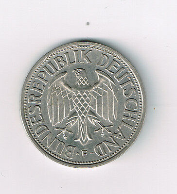 Germany 1955F 1 Deutsche Mark Unc Km# 110