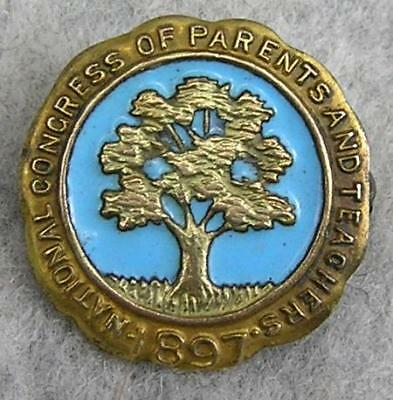 National Congress of Parents and Teachers Pin `