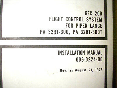 KFC 200 in Piper Lance PA 32RT 300 PA 32RT 300T kfc 200 autopilot wiring diagram kc 295 manual \u2022 wiring diagrams piper turbo arrow iii wiring diagram at soozxer.org