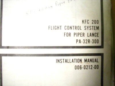 KFC 200 in Piper Lance PA 32R 300 installcheck kfc 200 autopilot wiring diagram kc 295 manual \u2022 wiring diagrams piper turbo arrow iii wiring diagram at soozxer.org