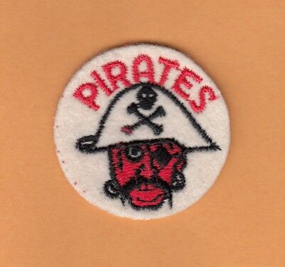 VERY OLD '60s PITTSBURGH PIRATES Stitched PATCH Unused