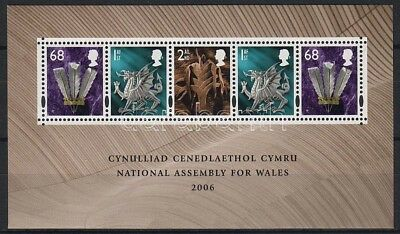 Great Britain stamp 2006 Wales block WS24253