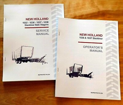 new holland 1002 1036 1037 1038 stackliner bale wagon service repair rh picclick com New Holland 1048 Specs 1002 New Holland Operators Manual