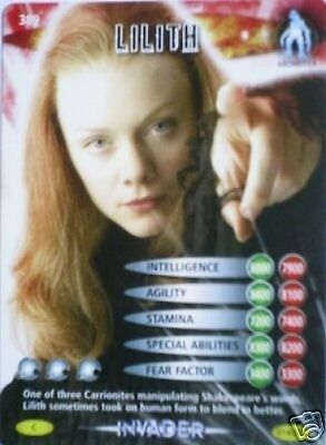 Dr Who Invader Card 389 Lilith - Mint !!