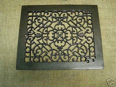 Vintage 1800s Cast Iron Register Grate Antique Grates *