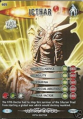 Dr Who Ultimate Monsters 605 Icthar