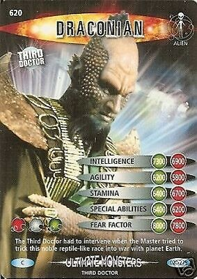 Dr Who Ultimate Monsters 620 Draconian