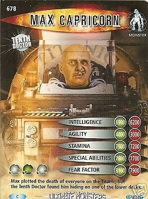 Dr Who Ultimate Monsters 678 Max Capricorn