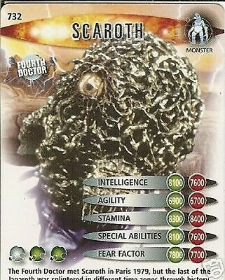 Dr Who Ultimate Monsters 732 Scaroth