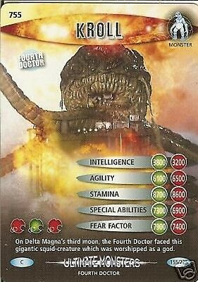 Dr Who Ultimate Monsters 755 Kroll