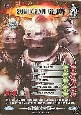 Dr Who Ultimate Monsters 756 Sontaran Group