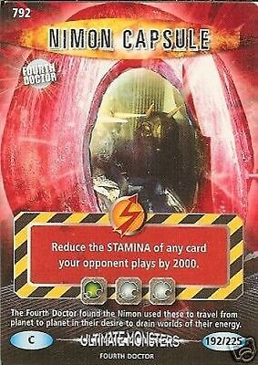 Dr Who Ultimate Monsters 792 Nimon Capsule