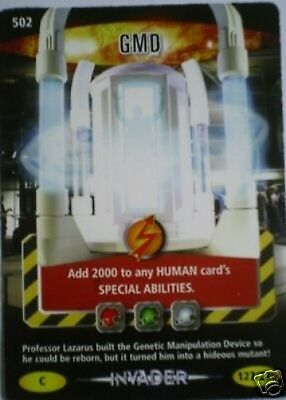Dr Who Invader Card 502 Gmd  - Mint !!