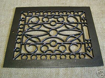 Vintage 1880s Cast Iron Register Grate Antique Grates ^