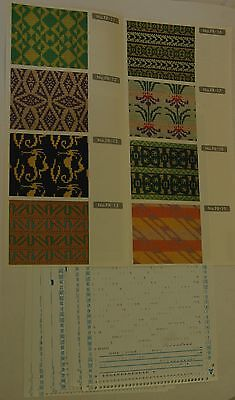 Knitmaster knitting machine Double Jacquard Pattern Set for F-370/270  FR11-20