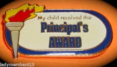 """""""My Child Received the PRINCIPAL AWARD"""" Pins, Lot of 25"""