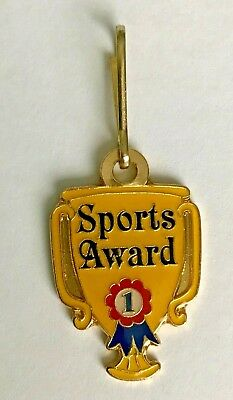"""1st Place Sports Award"" Charm, Lot of 12, NEW!"