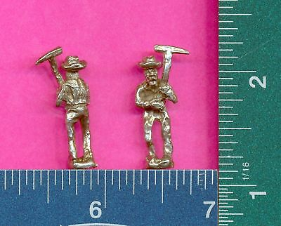 20 wholesale lead free pewter miner figurines m11121