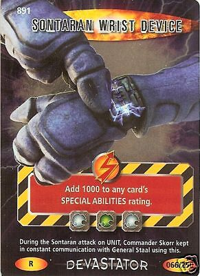 DR WHO DEVASTATOR CARD 1024 ADIPOSE