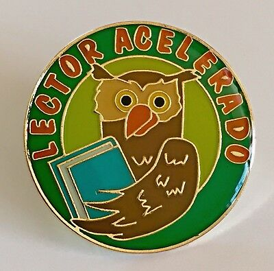 """""""LECTOR ACELERODO"""" Spanish-Accelerated Reader Pins (25)"""