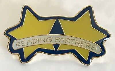 """"""" READING PARTNERS"""" Pins, Lot of 20/NEW!"""