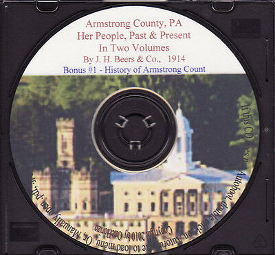 Armstrong County PA - People, Past & Present Vol 1&2
