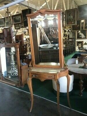 French Console/Hall Piece w/Beveled Mirror, c. 1875 #1296
