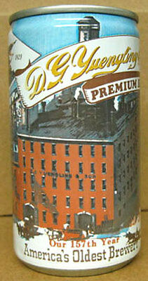 YUENGLING BEER es CAN, 157th Yr Brewery Scene, Pottsville PENNSYLVANIA 1986 1/1+