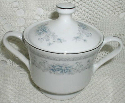 American Limoges Bridal Bouquet Sugar Bowl with Lid