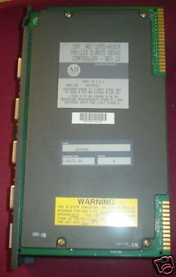 1771-HS3CR Rev 7 series A 1.02/2.15 Allen-Bradley - 1 year warranty