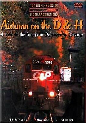 Autumn on the Delaware and Hudson DVD Sealed NEW