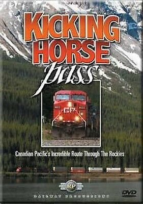 Kicking Horse Pass DVD Railway Productions