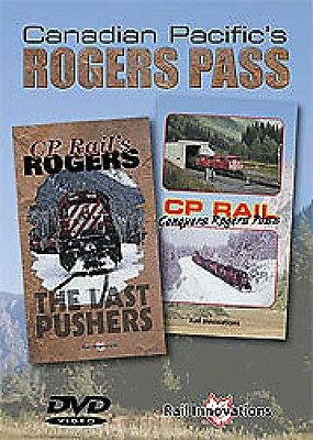 Canadian Pacifics Rogers Pass on DVD Rail Innovations