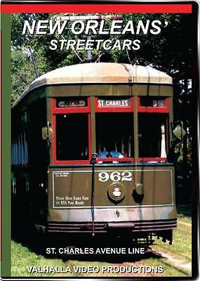 New Orleans Streetcars on DVD by Valhalla Video