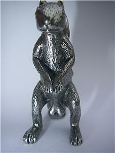 SQUIRREL POKER FIGURINE Guard Card Cover PROTECT NUTS