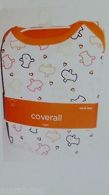 Halloween Ghost & Candy Corn Design Baby Long Sleeve Onesie Coverall 3-6 Month