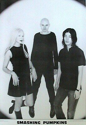 THE SMASHING PUMPKINS POSTER Relax Group Close up 24x36