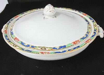 Johnson Bros Circa 1913 Pat No 46784 Cov'd Casserole