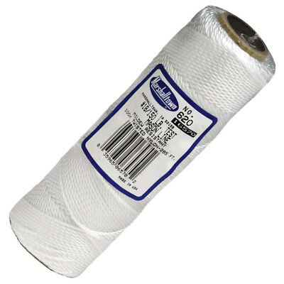 Marshalltown White Brick Line 285 FT 85m Masons Masonry Twisted Nylon M620