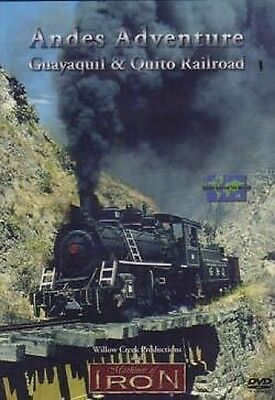 Andes Adventure - Guayaquil & Quito Railroad DVD NEW