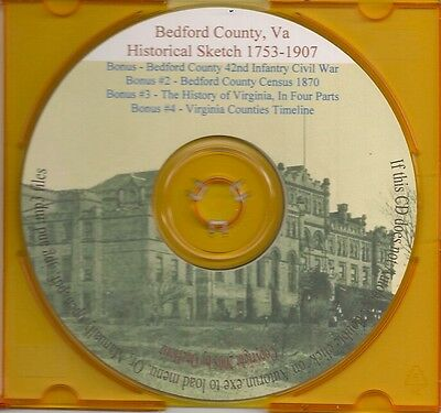 Bedford County Historical Sketch - Va Genealogy