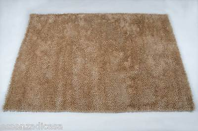 Tappeto Shaggy 160 X 230 Beige  Moderno