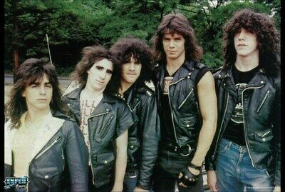 ANTHRAX POSTER Amazing Group Shot Early Years RARE NEW