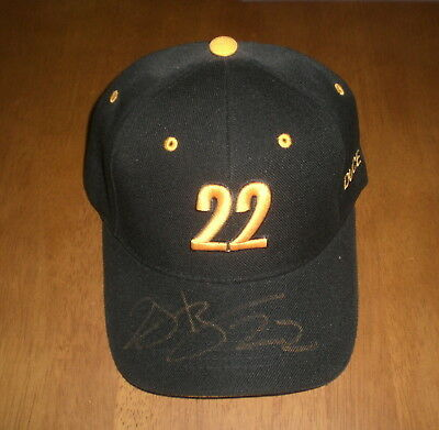 Pittsburgh Steelers Duce Staley Signed Autographed Black Hat W/coa