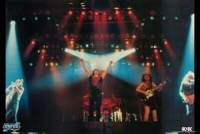 ACDC POSTER Live on Stage RARE HOT NEW AC/DC
