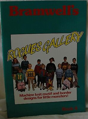 Rogues Gallery Book 4 for Children - Knitting Machine Book Motif M710