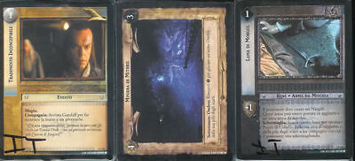 LORD OF THE RINGS TCG FELLOWSHIP COMPLETE SET OF 365 PORTUGUESE FOIL CARDS