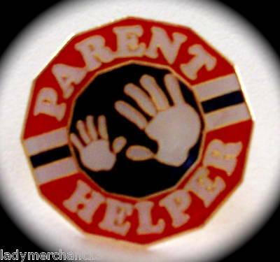 """PARENT HELPER"" Lapel Pins, Lot of 25!, ALL NEW LINE!"