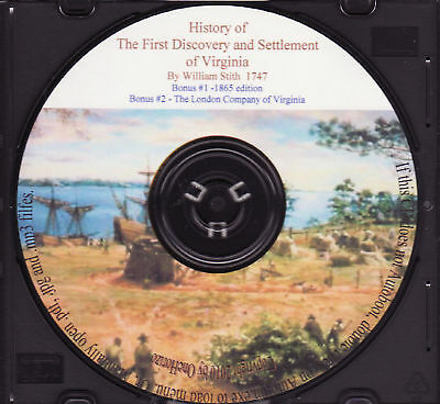 Virginia First Discovery and Settlement - History