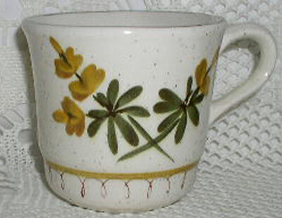 Stangl Golden Blossom Hand Painted Coffee Tea Cup